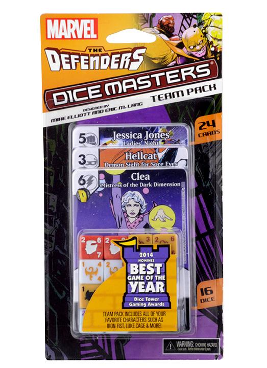 Wizkids anuncia mais uma expansão para o Dice Masters, a Defenders Team!