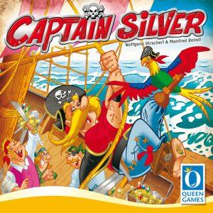 Jogo de tabuleiro infantil Capitão Silver