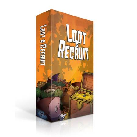 Empilhe seus goblins em Loot & Recruit