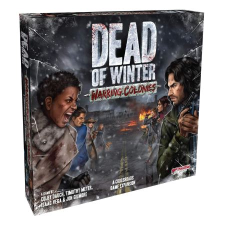 Expansão jogo de tabuleiro Dead of Winter Warring Colonies