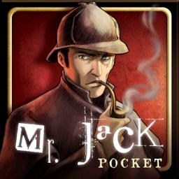 Jogo de tabuleiro Mr. Jack Pocket