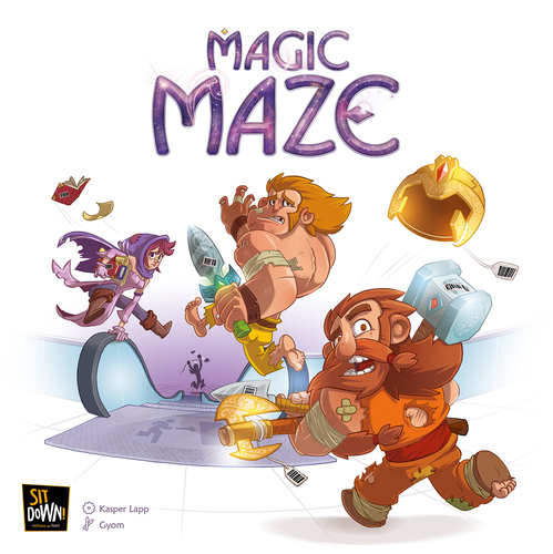 Jogo de tabuleiro Magic Maze