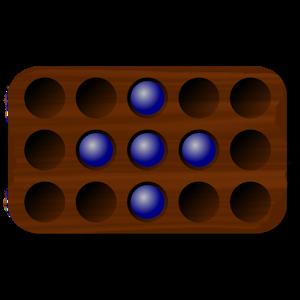 Jogo de tabuleiro Mancala