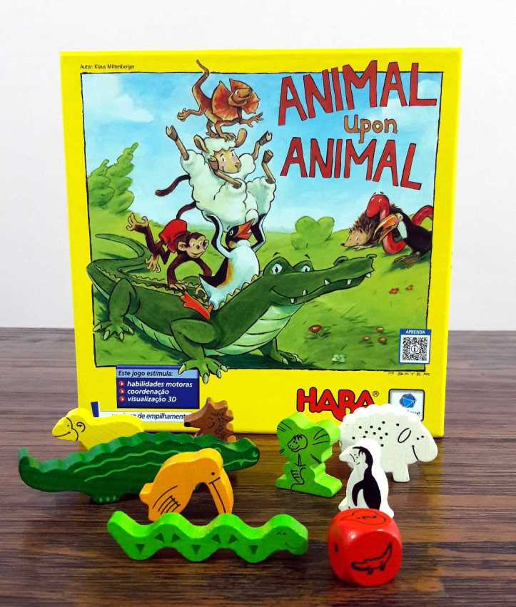 Jogo infantil Animal Upon Animal