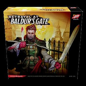 Jogo de tabuleiro Betrayal At Baldur's Gate.