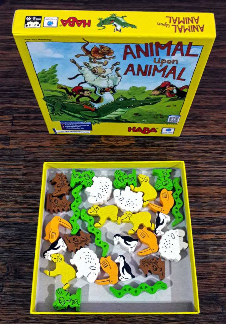 Caixa do jogo Animal Upon Animal