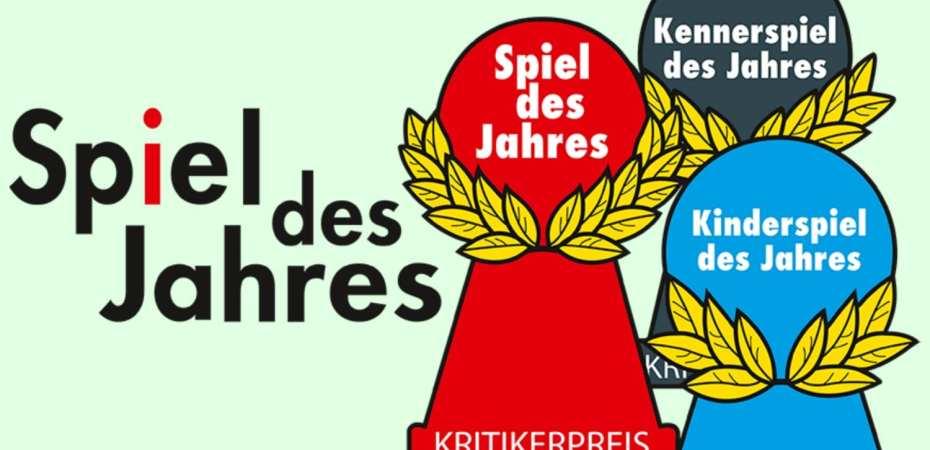 Famoso prêmio alemão de jogos o Spiel des Jahres