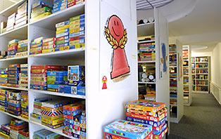 Museu de jogos de tabuleiro em Nuremberg