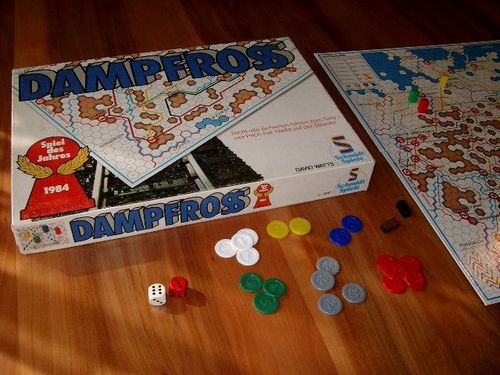 Jogo de tabuleiro Dampfross