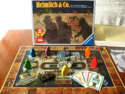 Jogo de tabuleiro Heimlich & Co