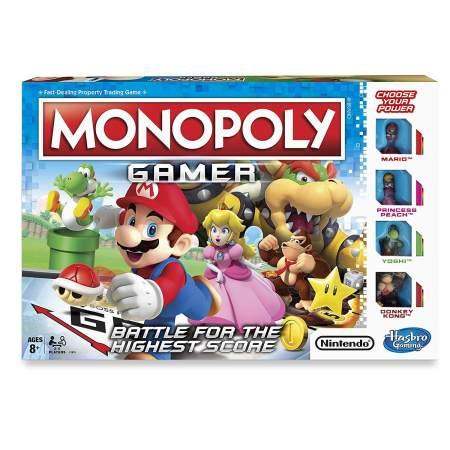 Monopoly com personagens da Nintendo