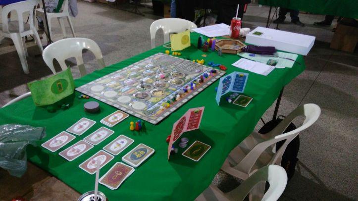 Protótipo jogo de tabuleiro Grasse
