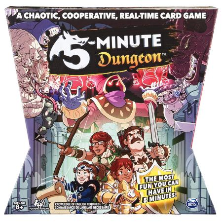 Jogo de tabuleiro 5 Minute Dungeon