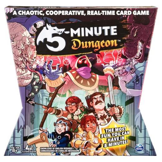 Jogo de tabuleiro 5-Minute Dungeon