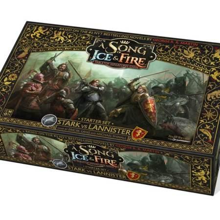 A Song of Fire Ice o jogo de miniaturas do Game of Thrones