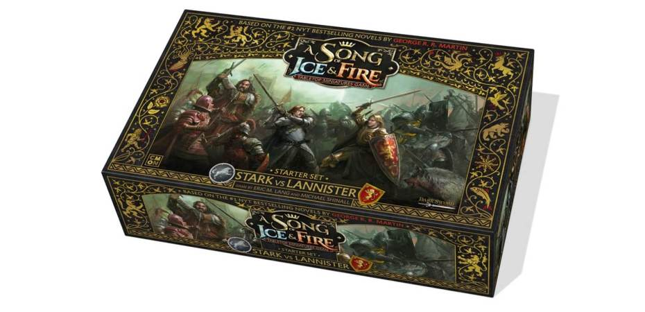 A Song of Fire Ice o jogo de miniaturas do Game of Thrones