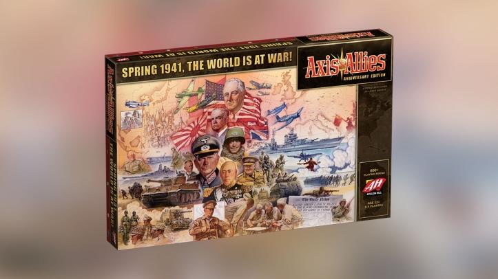 Jogo de tabuleiro Axis vs Allies