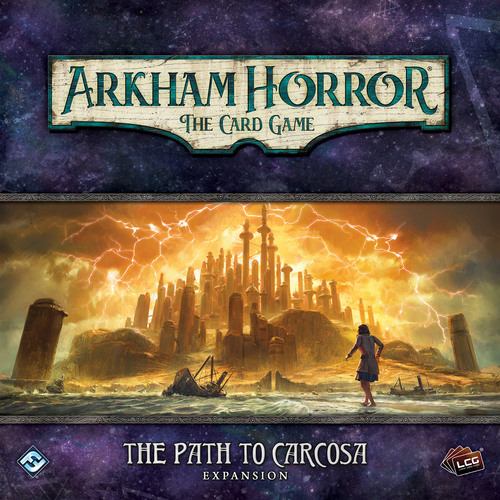 "Expansão Arkham Horror ""The Path to Carcosa"""