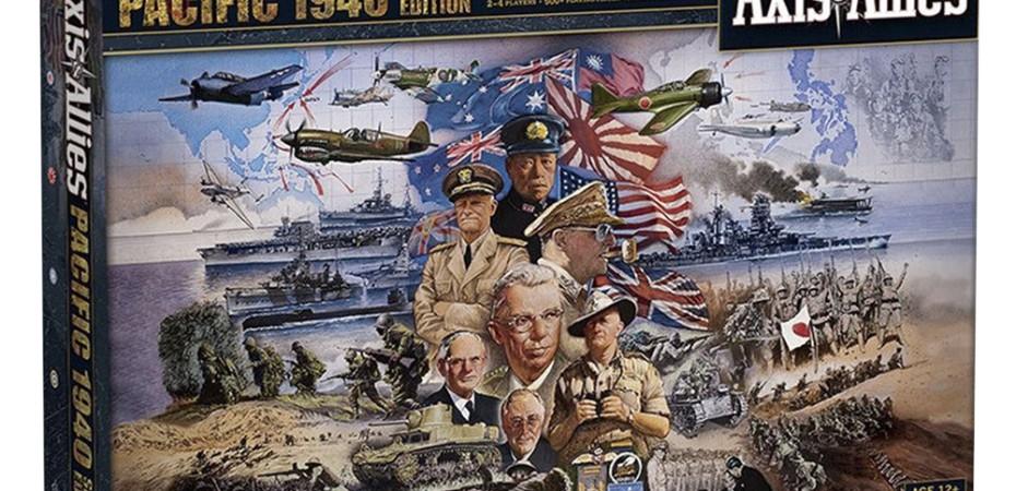 Jogo de tabuleiro Axis and Allies