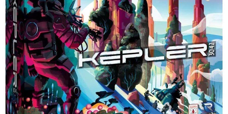 Kepler 3042 lançado pela Renegade Games