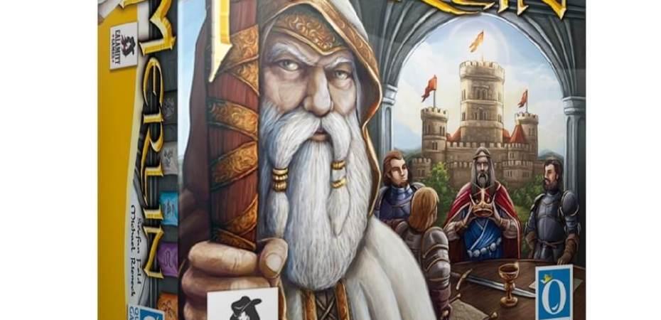 Vem ai o Merlin novo jogo do Stefan Feld