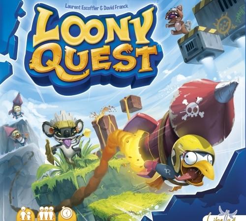 Caixa jogo Loony Quest
