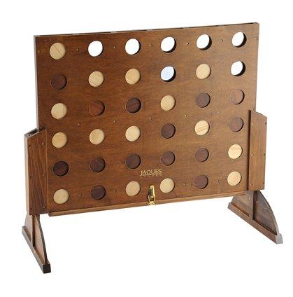 Jogo Connect 4 de madeira para seu escritório