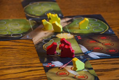 Jogo de tabuleiro Bullfrogs