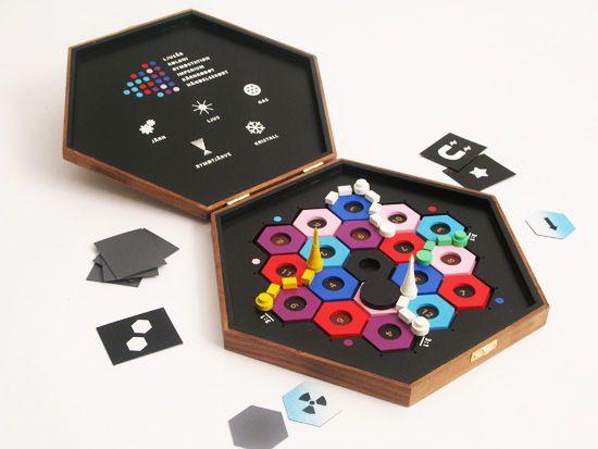 Versão de viagem do jogo de tabuleiro Catan