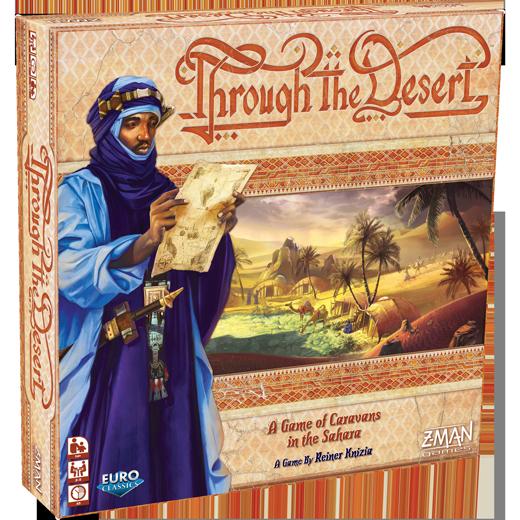 Quem está trazendo o ótimo jogo Through the Desert de volta?