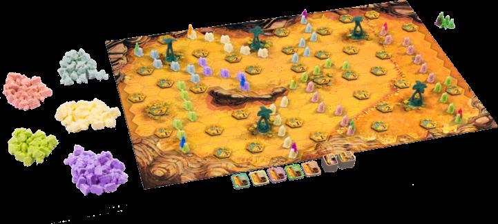 Jogo de tabuleiro Through the Desert