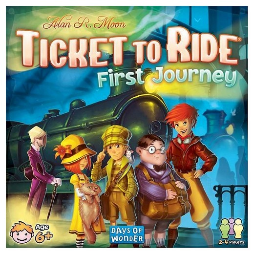 Ticket to Ride First Journey em formato digital