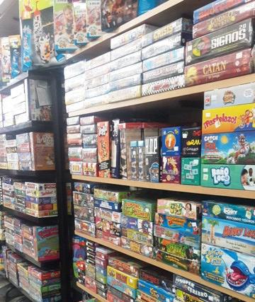 Jogos de tabuleiro, como manter a coleção organizada?
