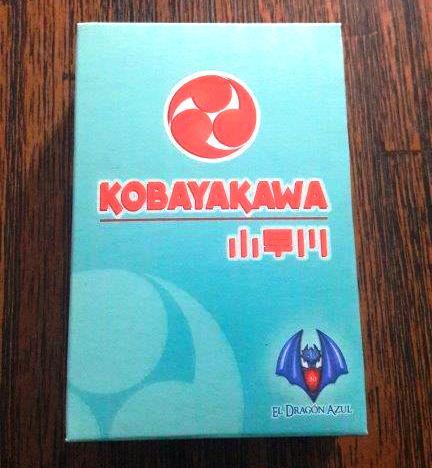 Jogo de cartas Kobayakawa