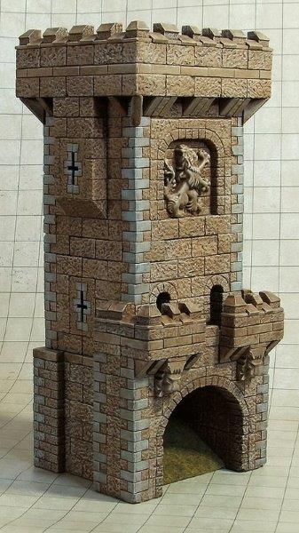 Torre de dados medieval