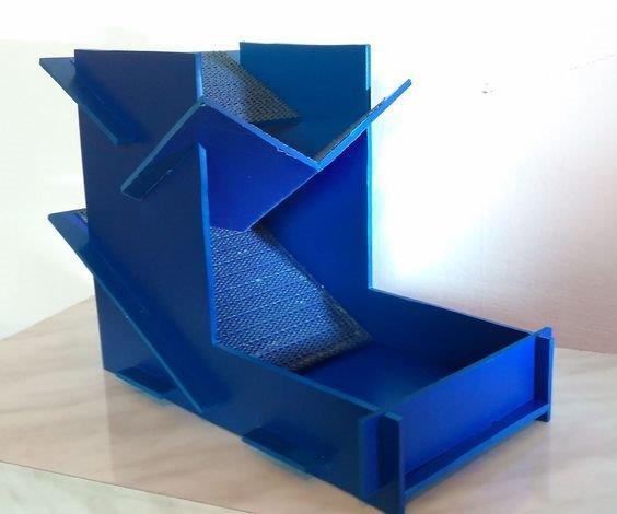 Torre de dados minimalista