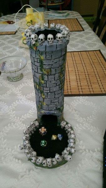 Torre de dados de caveira