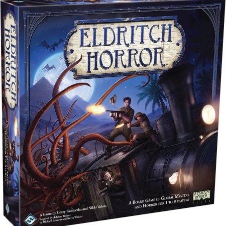 Jogo de tabuleiro eldritch horror