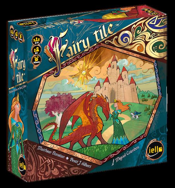 Jogo de tabuleiro Fairy Tile