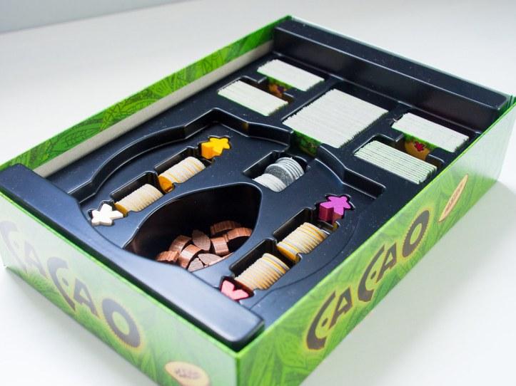 Insert jogo de tabuleiro Cacao
