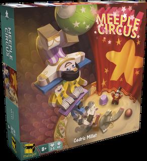 Jogo de tabuleiro Meeple Circus