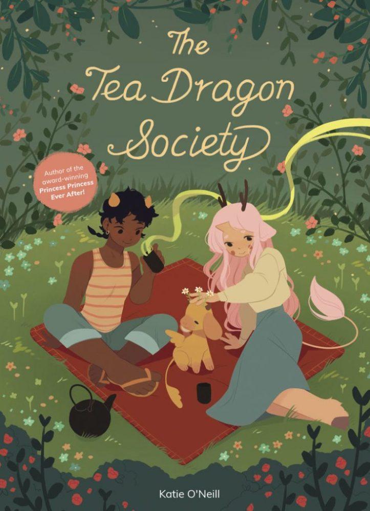 O mundo da The Tea Dragon Society chega aos jogos de tabuleiro