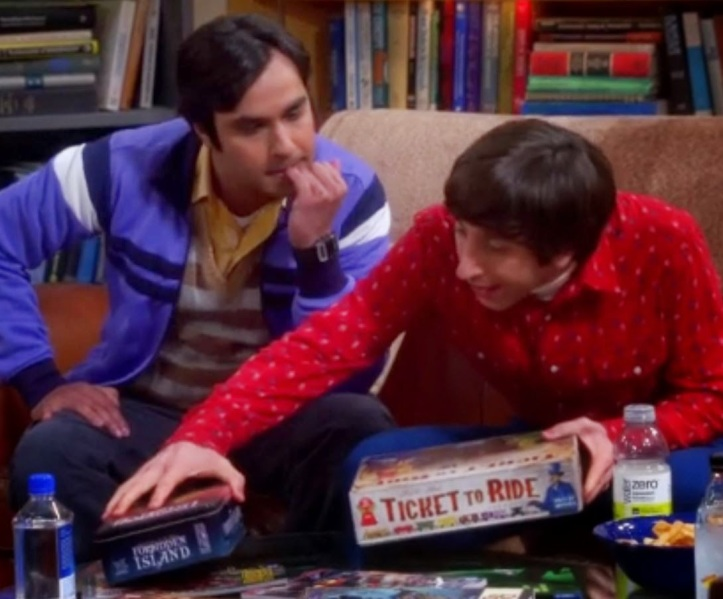 Série de TV Big Bang Theory
