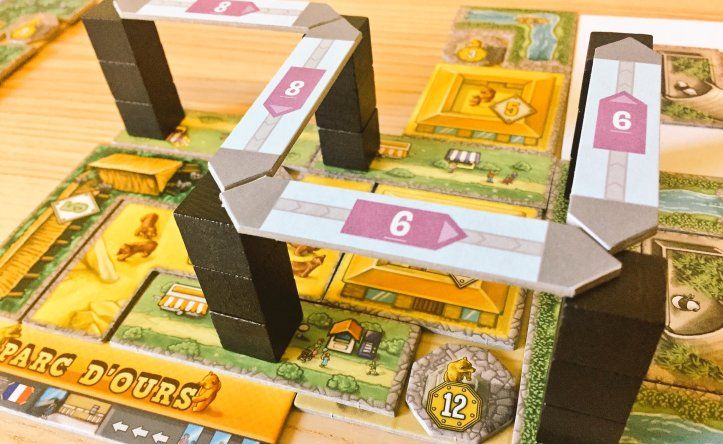 Expansão jogo de tabuleiro Barenpark