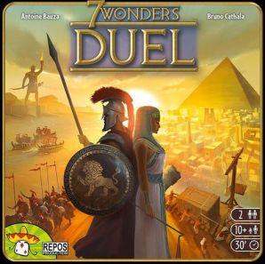 Caixa do jogo 7 Wonders Duel