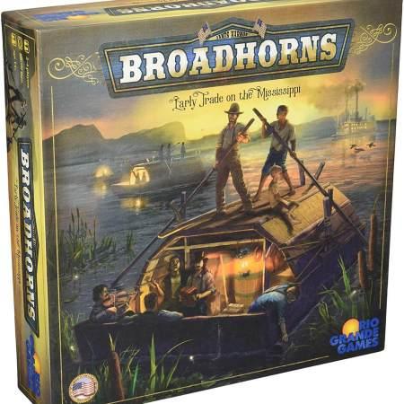 Viaje rio abaixo em Broadhorns