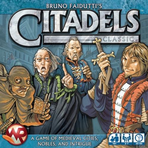 Jogo de tabuleiro Citadels
