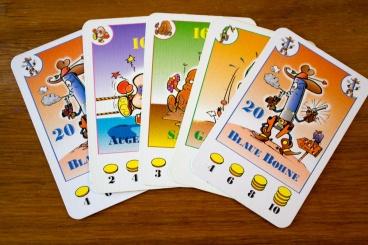 Cartas jogo Bohnanza