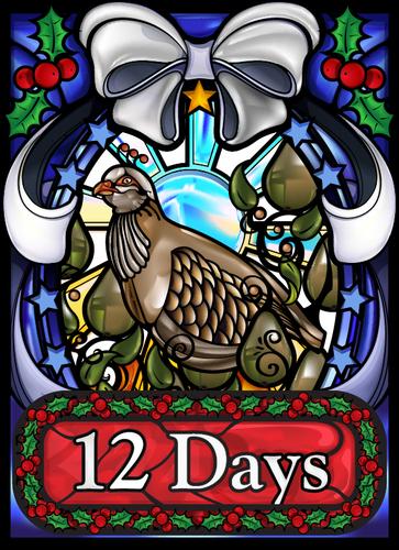 Jogo de tabuleiro 12 Days