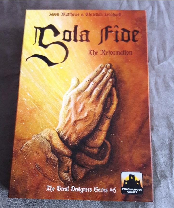 Jogo de tabuleiro Sola Fide: The Reformation